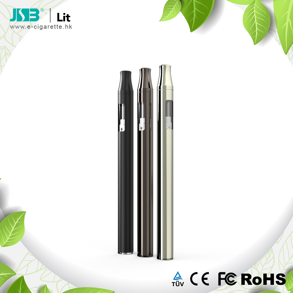 Disposable vape pen without button Lit thick cbd oil vape pen vaporizer ceramic coil 240mah cbd oil vape pen
