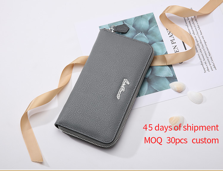 100% Genuine Leather New Arrival Brand Names Women Wallet Leather,Wholesale Women Wallets Latest
