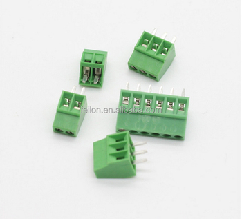 Small Terminal Block 2 54mm Pitch Pcb Soldering Screw Terminal Block - Buy  Terminal Block Pcb Mount,Terminal Block,Pcb Terminal Block Product on