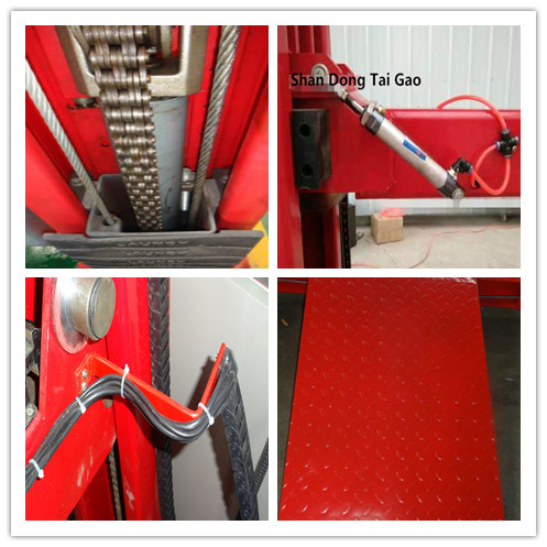 Promotion Best price hydraulic floor plat car lift chain four post lift
