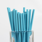Bulk promotion compostable paper straws