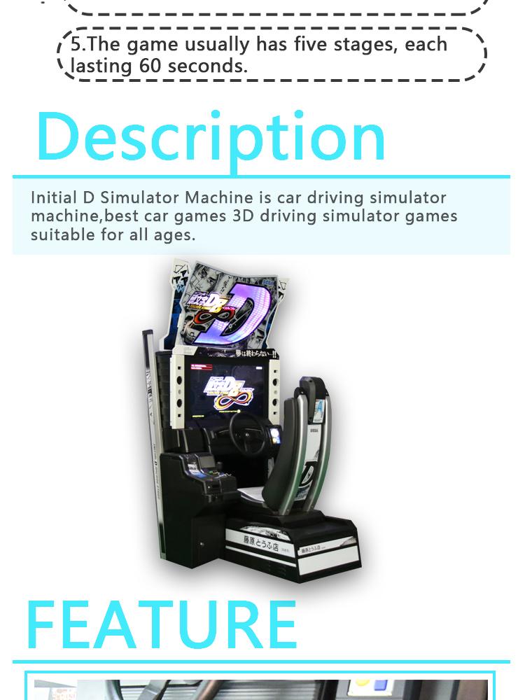 Wholesale Amusement Initial D Simulator Car Racing Arcade ...