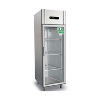 Most popular commercial large glass door energy drink fridge