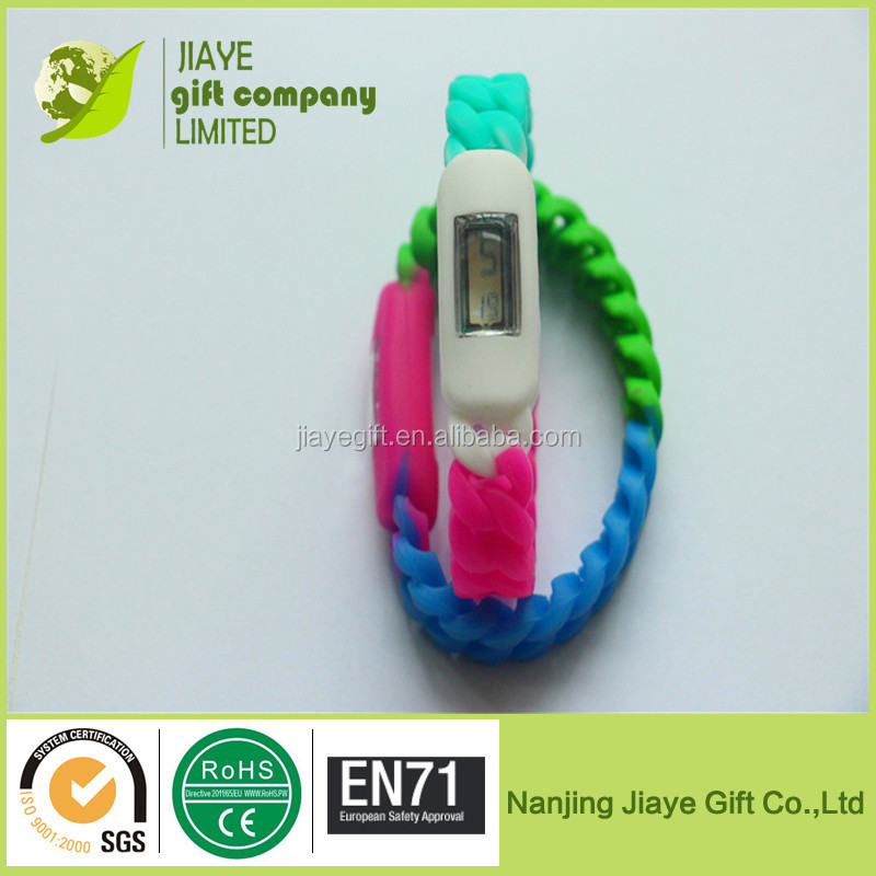 New Design Knit Silicone Watch