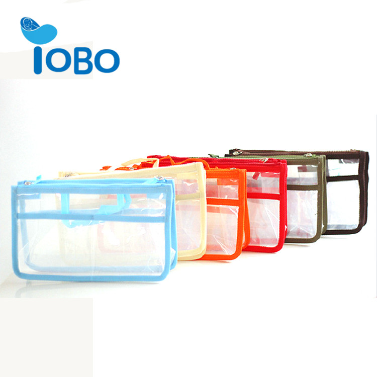 Travel makeup portable cosmetic bag small transparent cosmetic bag