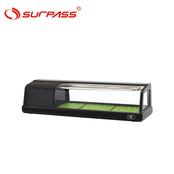 Hot sales Commercial Counter Top Refrigerated Sushi Display Showcase