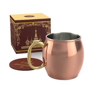 450ML-16OZ Stainless Steel Manufacturer Moscow Mule Copper Mug