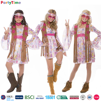 Carnival Halloween Party Costumes Girl Sexy Hippie Costume