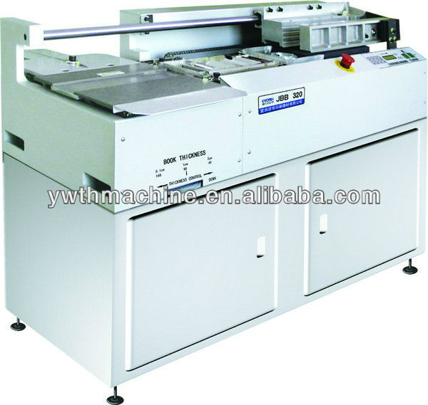 A4+ Pneumatic Perfect Book Binder Binding Machine