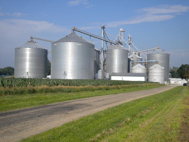 Sunflower seed storage steel silo Sesame Silo