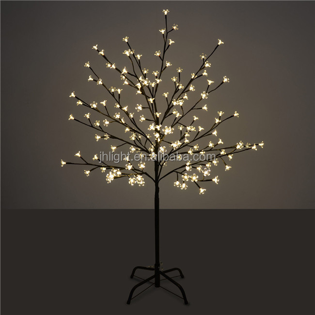 90cm Brown Outdoor LED Christmas Twig Tree, Outdoor Lighted Twig Christmas  Trees, Outdoor Metal