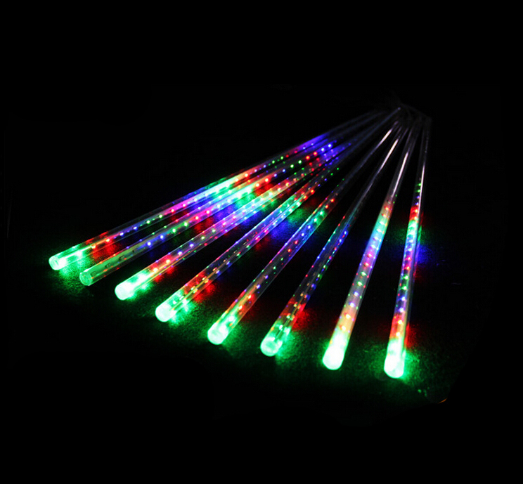 2015 Commercial Pre Lit Led Hanging Led Shooting Star Dripping ...