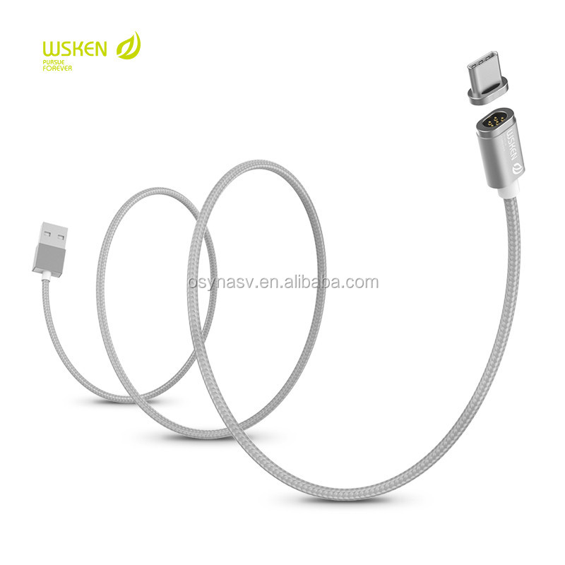 Mini 2 Fast Charging Cable 2.4A Magnetic Charging Data Type C Magnetic Charging Cable For Mobile Phone