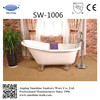 classical freestanding cast iron enamel slipper bathtub