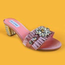 Wide Foot Jooty, Escarpins Bout fermé Femme - Rose - Pink (Light Pink), 36New Look