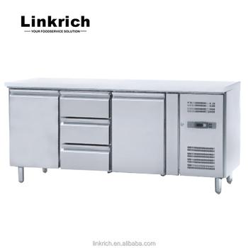 Kühlarbeitstisch Mit Schublade / Unterbaukühler - Buy Küche ...