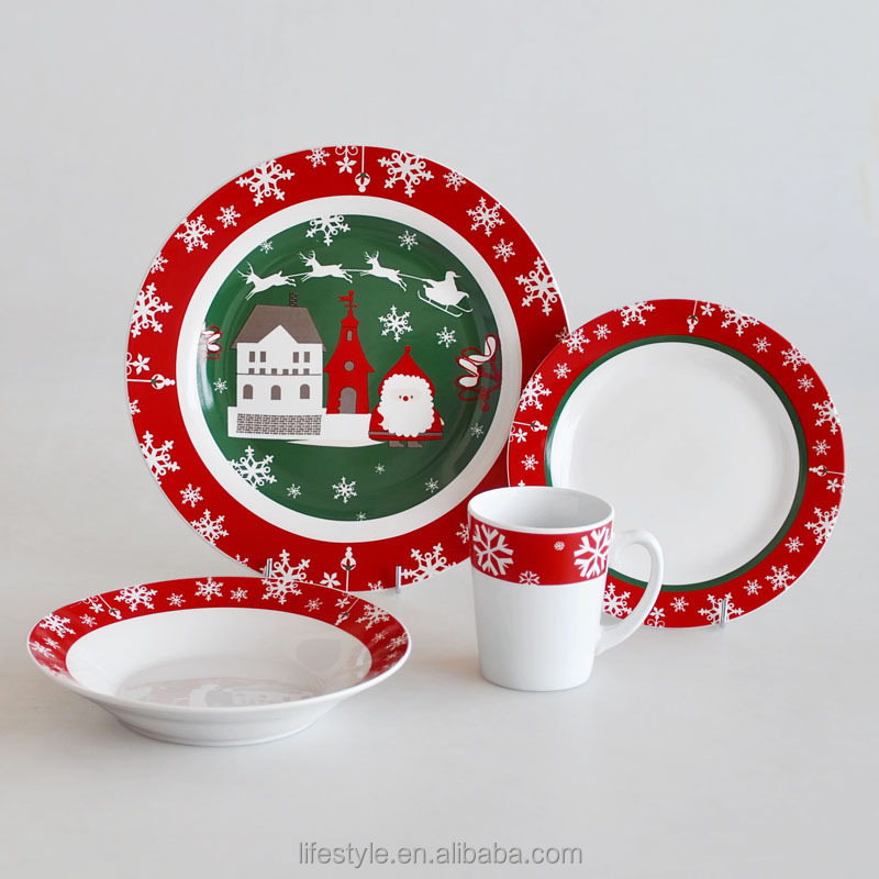 12 Days Of Christmas Dinner Plates