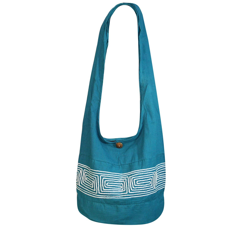 e0c95ca05020 Get Quotations · Tonka Cotton White Cotton Crossbody bags Shoulder Bags  Messenger Bags Hobo Bags Hippie Bag Hippie Bohemian