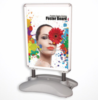 outdoor A frame sign wind master water base poster stand