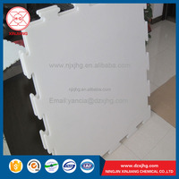 china low price hard plastic HDPE raw material ice rink panels