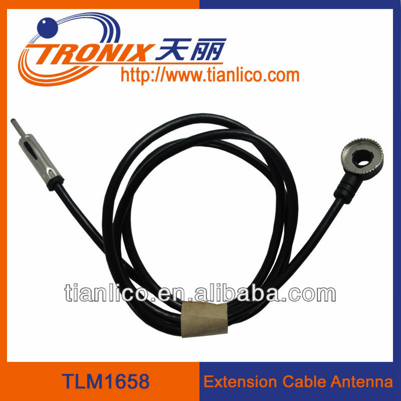 car radio antenna extension cable connector / radio antenna feed cable wire  TLM1658(OEM manufactory), View radio antenna extension cable connector ,  TRONIX Product Details from Shenzhen Tian Li Auto Electronics Technology  Company