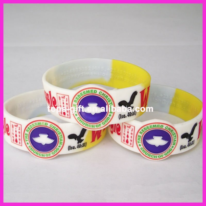 hot-sell silicone watch shape wrist bands