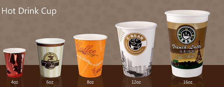 Guangzhou Factory 8 Oz Coffee Double Wall Insulated Hot Paper Cups
