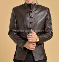 Best quality leather jacket men biker for men online