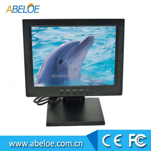 mini touch screen monitor 12v 12 inch usb port resistence touch screen monitor