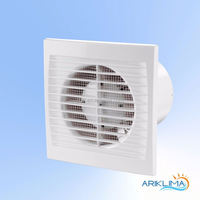 Low noise exhaust fan for oven cooling system made in Europe SLIM-S