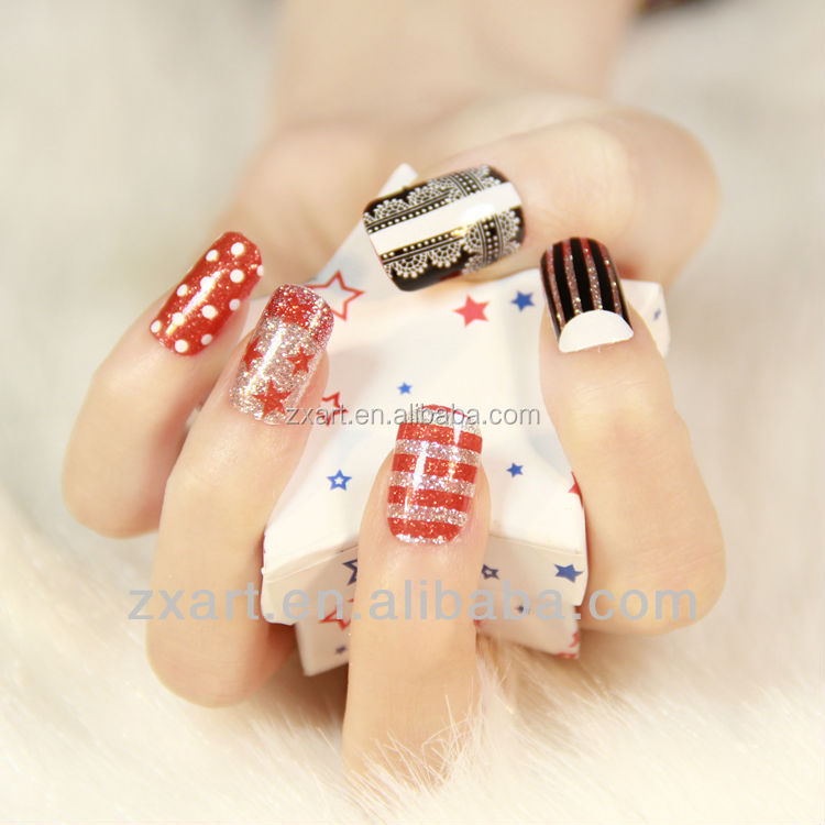 Chinese Wholesale 2016 Newest Nail Art Diy Decoration Nail Sticker ...