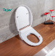 Disabled people hot sale electric siphonic toilet seat cover set