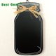 Wooden hanging decoration milk bottle shape chalk board black board