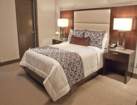 Modern bedroom plywood double bed designs hotel bedroom furniture bedroom set FC-6061