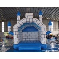 Blue Springs Inflatable Bounce House , Cheap Inflatable Bouncers for sale