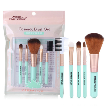 Free sample cosmetic makeup brushes professional custom logo make up brush set