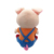 2018 pig year electric pig plush stuffed toy, ears can move and sing.