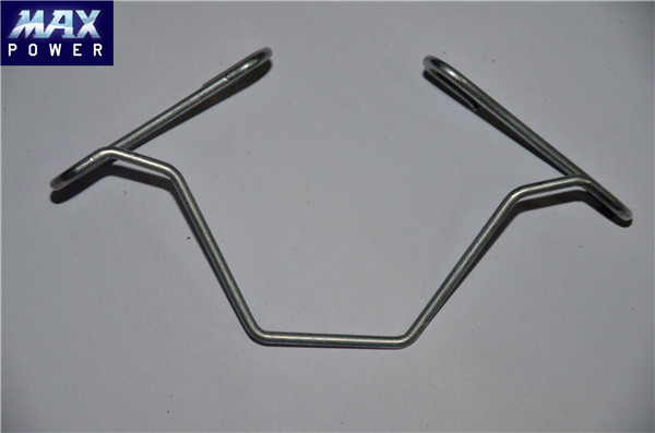 "Two Packs x 50 Thick Stainless Steel ""W"" Greenhouse Glazing Clips"