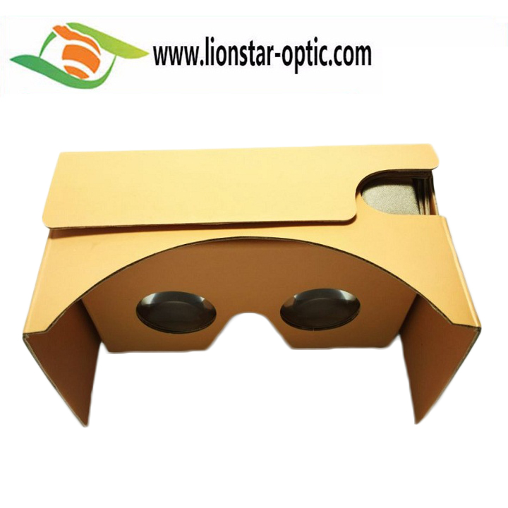 Beautiful Hand Craft Gift Google Cardboard VR Glasses,Logo Customized and Full Color Printing 3D Virtual Reality Glasses VR Box