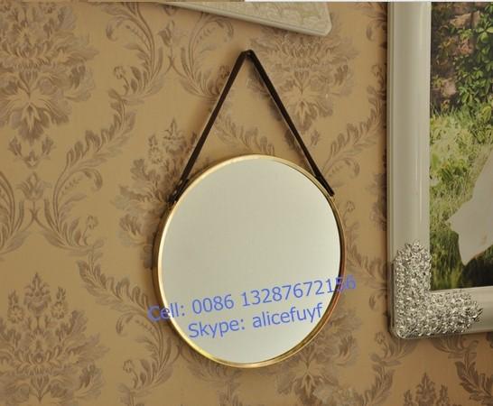 Ronde Spiegel Goud : Mediterrane barok spiegel adriane barokspiegel