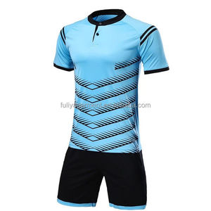 New design Custom Sublimation Quick Dry Material Club Team Football Uniform