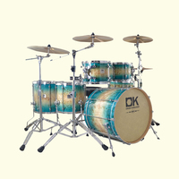 Latest reliance chinese supplier acoustic professional musical drum set
