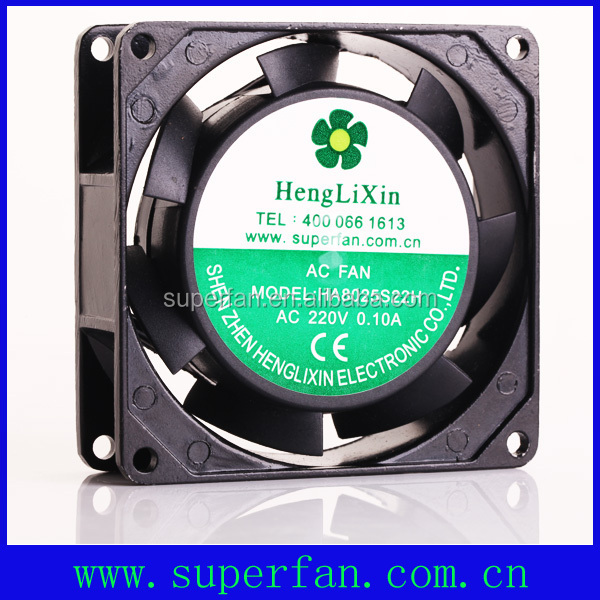 Axial AC fan 220V CPU cooling fan with factory price