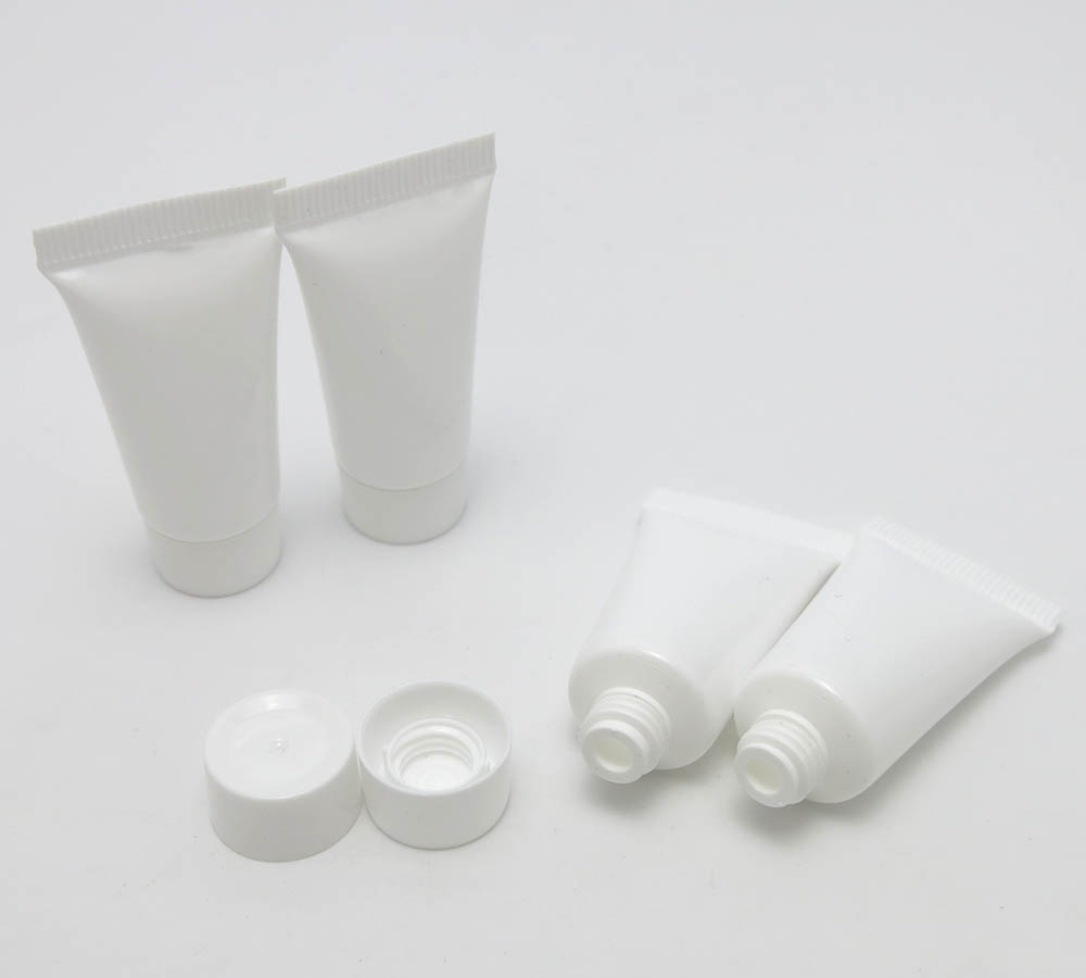 5g Empty Mini White Soft Cosmetic Soft Tube 5cc Plastic Cosmetic Container