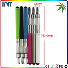 Alibaba wholesale china e cig latest technology sexy product glass thick oil e cigarrete touch battery vapor pens