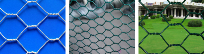 Hexagonal Chicken Wire Mesh Fence / Lowes Chicken Wire Mesh Roll ...