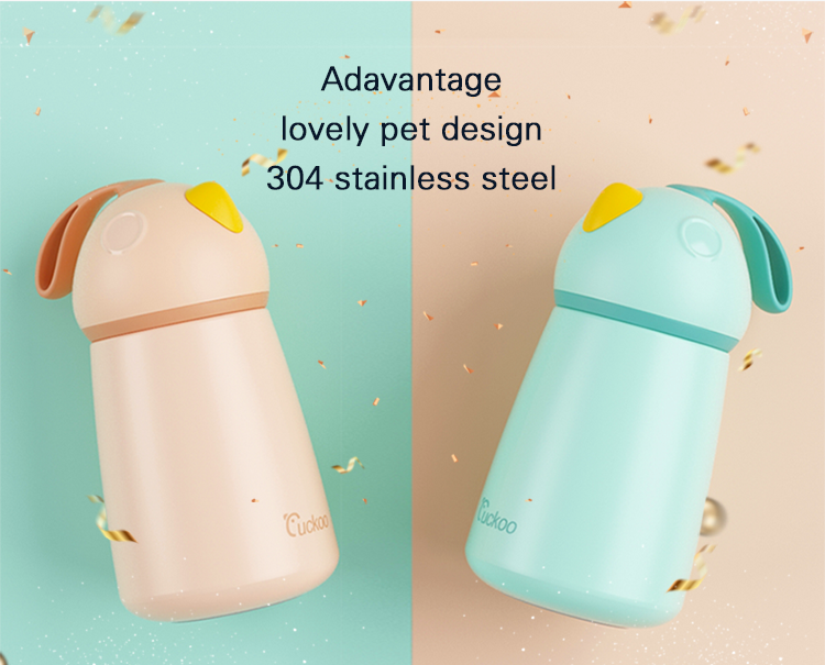Sports Style Food Flask For Kids Stainless Steel School