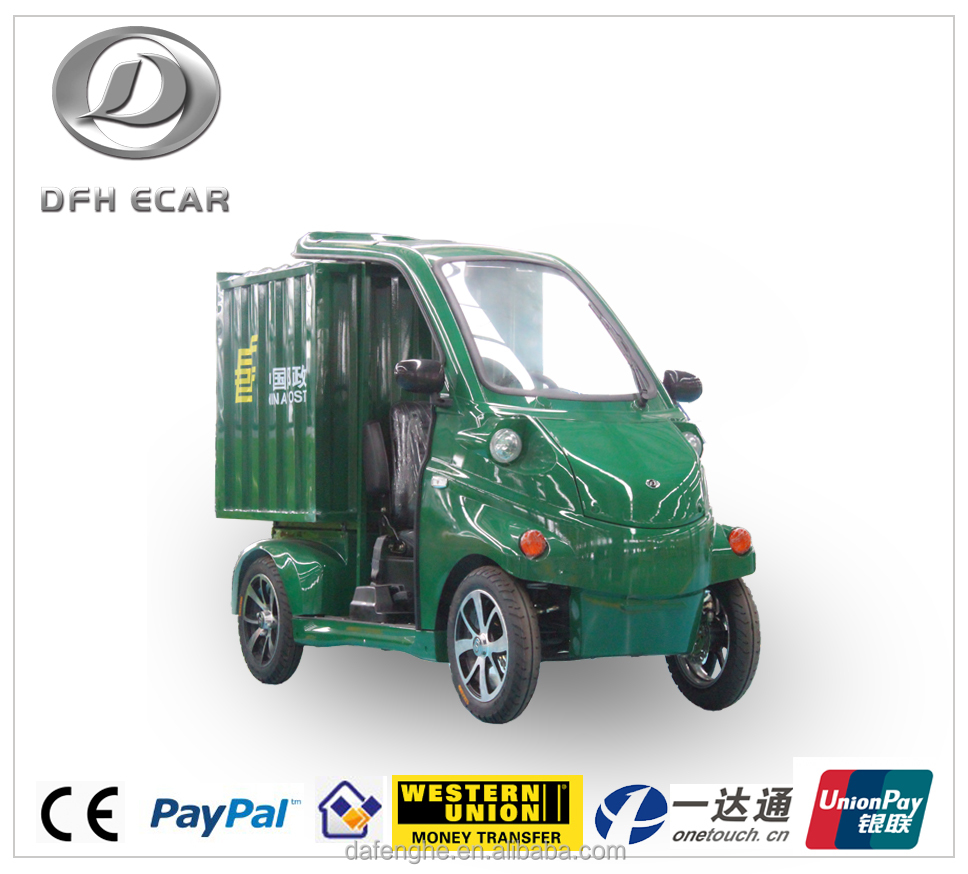 four wheels small fashionable express delivery car for sale