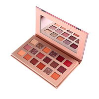 cosmetic gift box best 18 eyeshadow palette private label for dark skin imported wholesale makeup with lower price