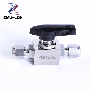 1pc 1/2 inch stainless steel mini ball valve